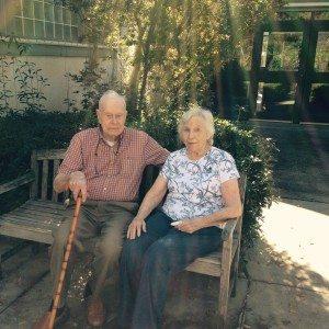 Ann and Charles Stewart visit HH
