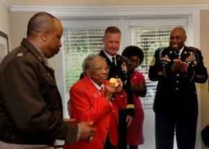 Sgt. Jones receives medal